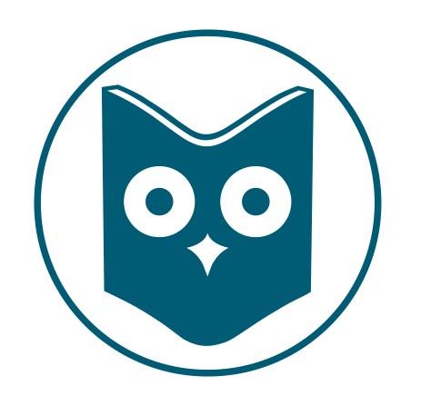 Suomen tietokirjailijoiden logo