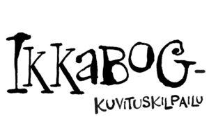 Ikkabog-kuvituskilpailun logo.