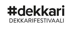 Logo, jossa #dekkarifestivaali.