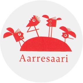 Aarresaari-palkinnon logo.