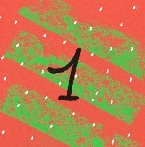 Joulukalenterin luukku 1.
