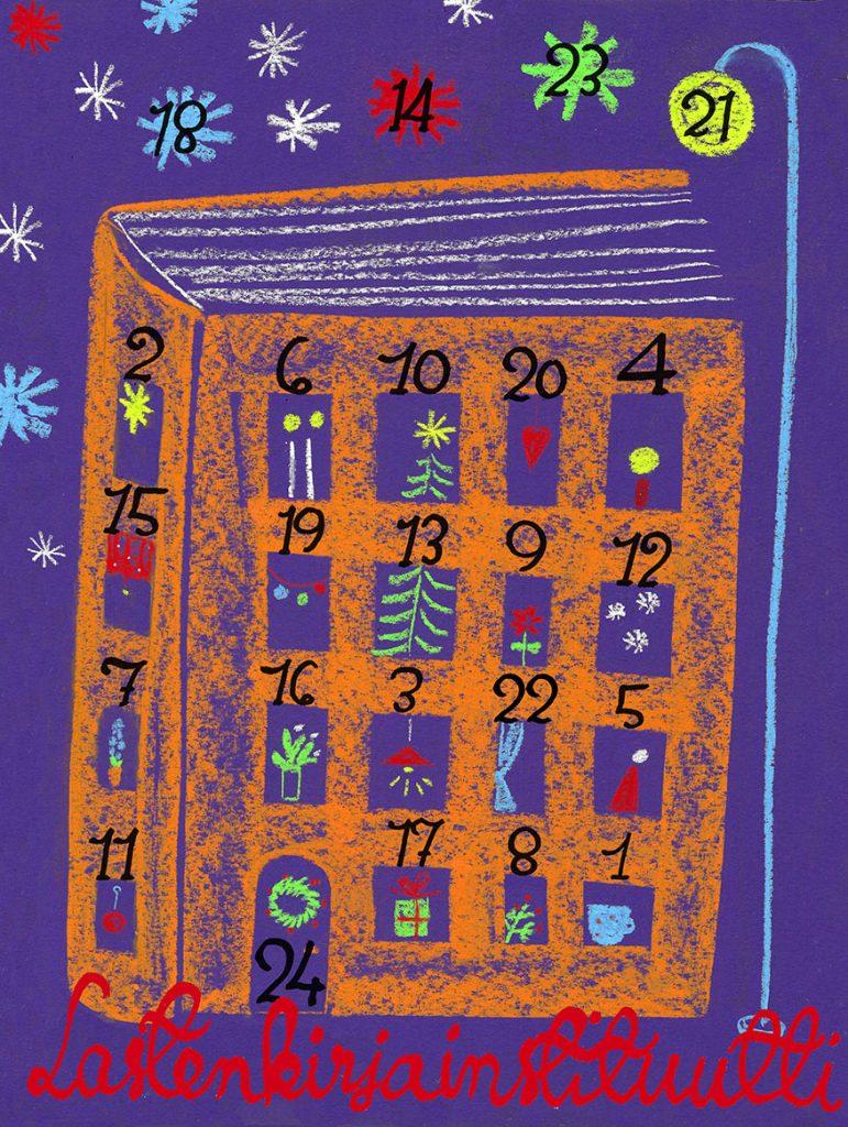 Joulukalenterin kuva. Tekijä Sanna Pelliccioni.
