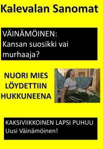 Kalevala-aiheinen lööppi 3.