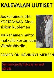 Kalevala-aiheinen lööppi 6.