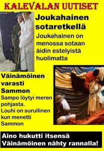 Kalevala-aiheinen lööppi 7.