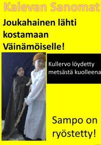 Kalevala-aiheinen lööppi 8.