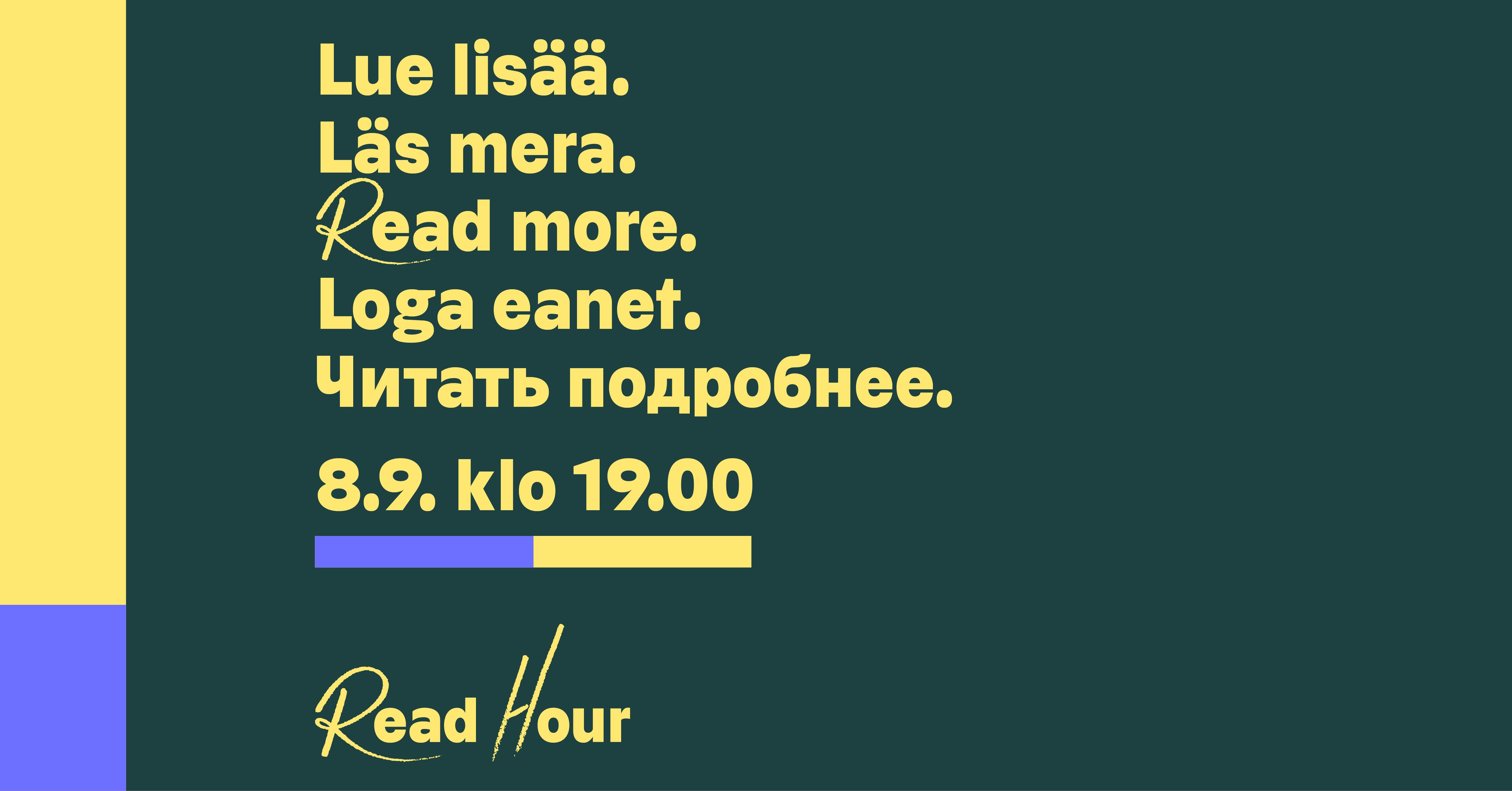 Readhour -kuva.