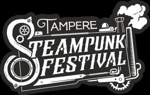 Tampere Steampunk festivalin logo.